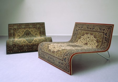 carpet sofa 450x315 Flying Carpet Sofa is Perfect for Watching Alladin