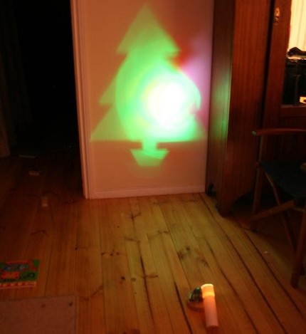 Christmas Tree Light Projector is Like a Virtual Christmas Tree
