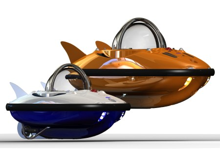 C-Quester Submarine is a Little Rechargeable Bubble of Undersea Happiness