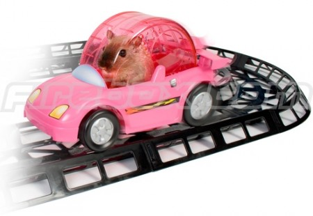 Critter Cruiser Puts Your Hamster Behind the Wheel