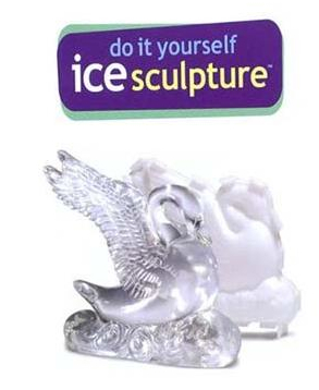 DIY Swan Ice Sculpture Kit for When You've Graduated Past the Ice Luge