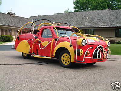 Crazy Dr. Seussian Style Firetruck for Sale