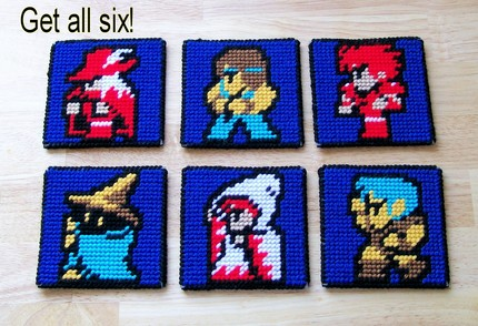 final fantasy coaster Pinboard