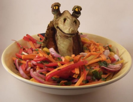 jar jar binks salad 450x346 Pinboard