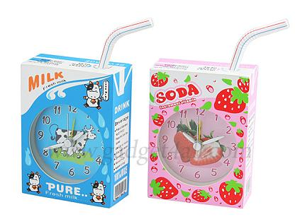 Juice Box Alarm Clock