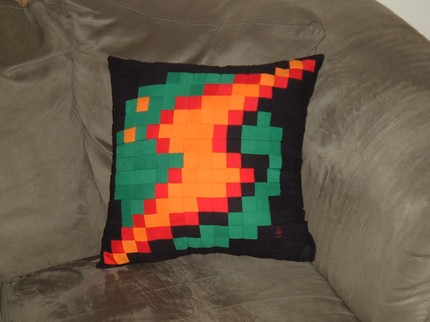 Metroid Pillow is Perfect for a Power (Up) Nap