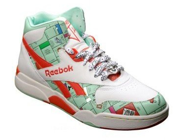 Monopoly Sneakers from Reebok