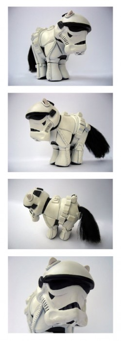 My Little Pony Stormtrooper is a Mutant Toy