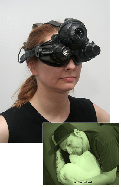 night vision goggles Pinboard