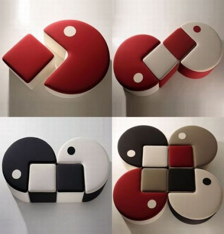 Pac-Man Inspired Seating Options