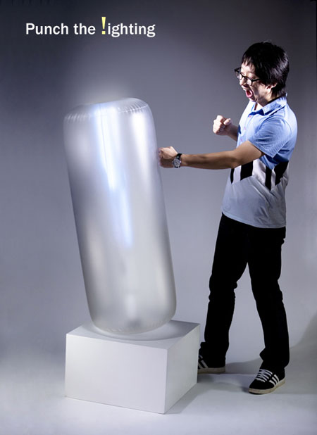 Punching Bag Lighting Concept