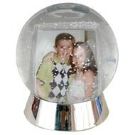 Make Your Own Snow Globe with the Snow Globe Photo Frame