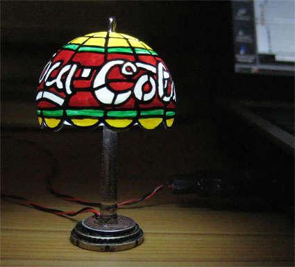 usb tiffany lamp Pinboard