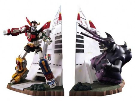 Voltron Bookends Defend Your Literature