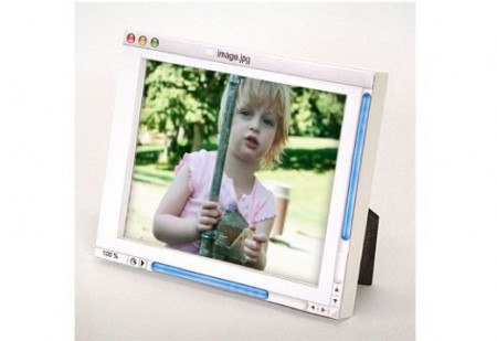 Analog Digital Picture Frame