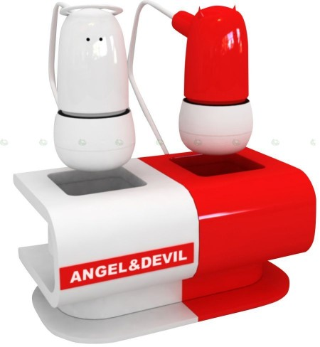 angel devil earphones 450x488 Pinboard