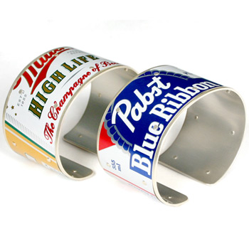 Beer Can Cuff Bracelets
