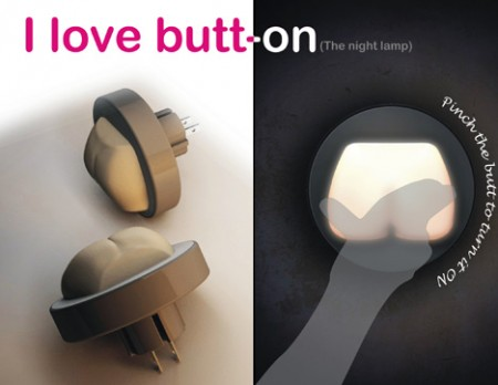 The Butt-on Night Light Takes It Literally