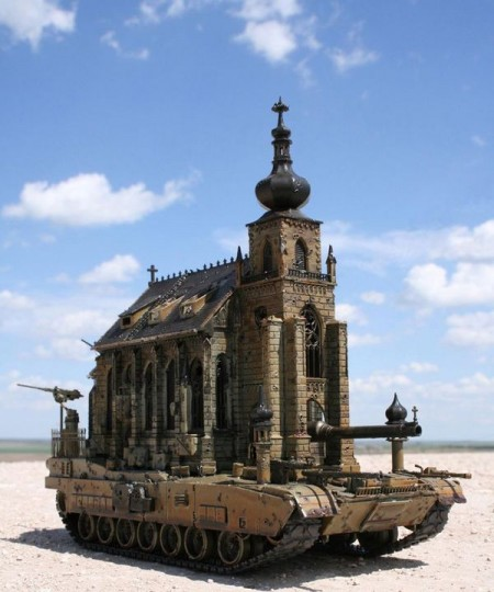 The Church Tank Sends a Mixed Message