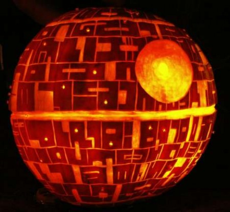 Death Star Pumpkin is the Ultimate Halloween Pumpkin