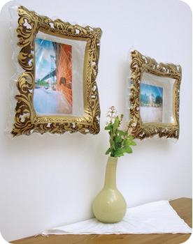 Instant Masterpiece Inflatable Picture Frames