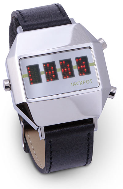 Jackpot Watch Has Built In Slot Machine
