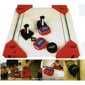 Boxing + Hockey + Your Table= Knockout Hockey