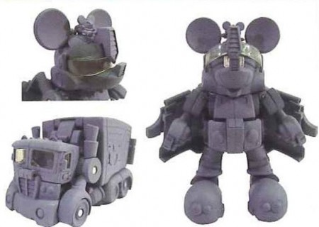 Mickey Mouse Meets the Transformers