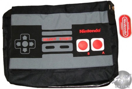 Nintendo Controller Messenger Bag is a Manbag for Fanboys