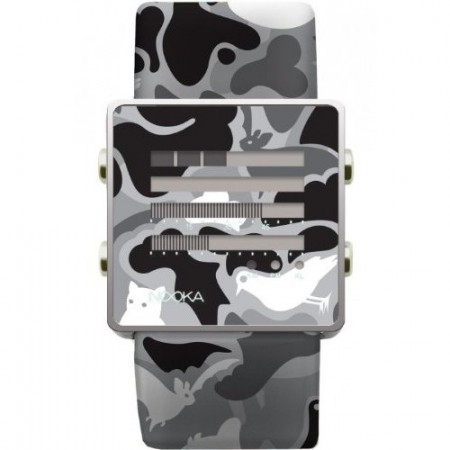 Nooka Camouflage Watch is Confusing But Cool