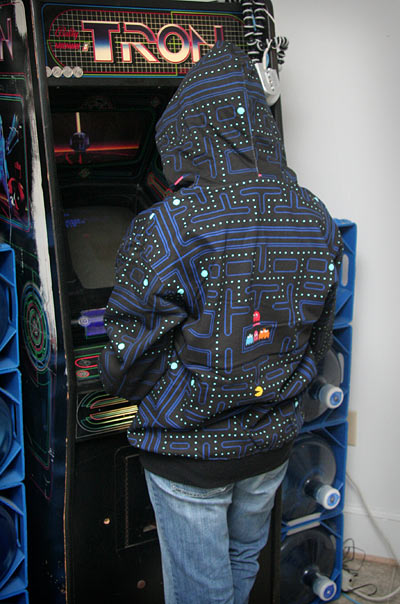 Connect the Dots with a Pac-Man Hoodie