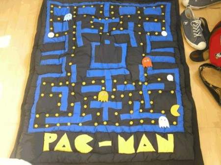 Playable Pac-Man Quilt