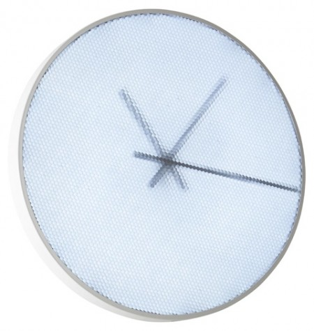 Lignet Roset Pixel Clock has 300 LEDs