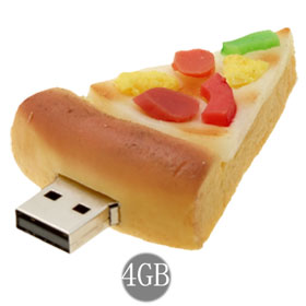 Pizza USB Flash Drive Perfect for Columbus Day Data