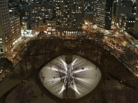 NYC Park's Light Show to be Controlled By Your Heartbeat