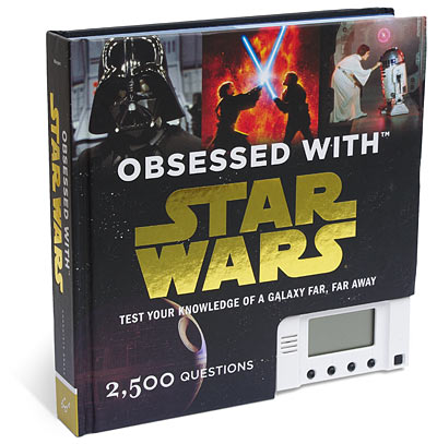 Be the Next Obi-Wan Ken-Jennings-nobi with the Obsessed with Star Wars Electronic Trivia Book