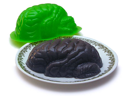 Zombie Brain Jello Mold