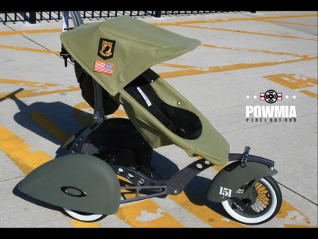 Military Inspired Stroller Takes Your Kid for a Ride Into the Danger Zone