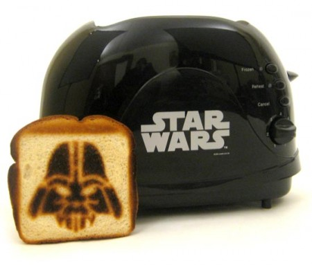Darth Vader Toaster Imprints a Little Bit of the Dark Side onto Every Slice