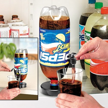 Fizz Saver Dispenser Keeps Your Soda Fizzy