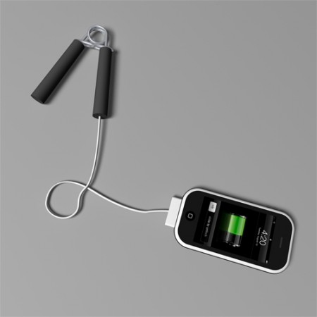 Over the Top: The Handgrip iPhone Charger