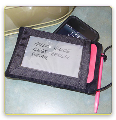 iSlate is an iPod Holder and Magic Slate