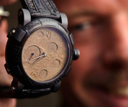 Watches Made from Actual Moon Dust and Parts of Apollo 11
