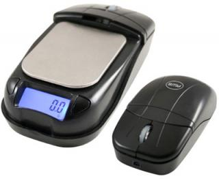 Optical Mouse Flips Open to Become a Digital Scale