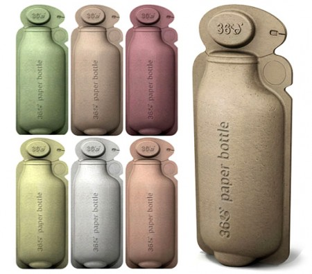 Water Bottles Made of Paper