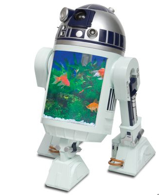 R2D2 Aquarium with Built In Periscope