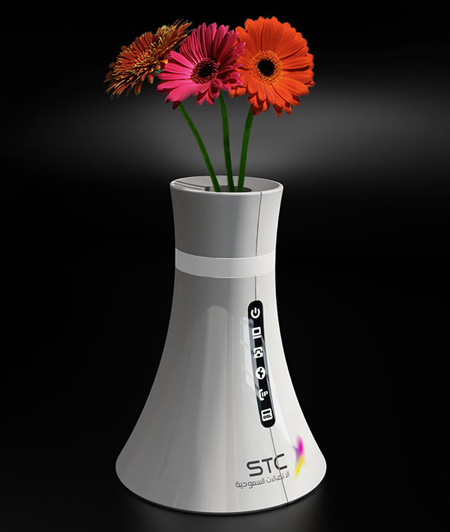Wireless Router is Also a Vase