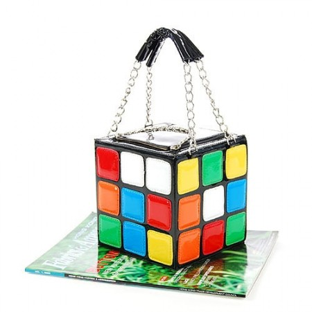 Rubik's Cube Handbag is a Head Turner