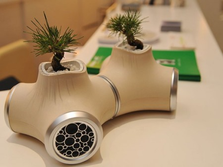 In-A-Gadda-Da-wtf: JVC Speakers with Built In Planters