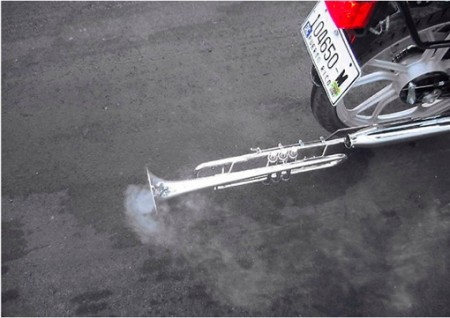 Tailpipe Trumpet is Exactly What You'd Think, Unless You're 12 or a Comedian
